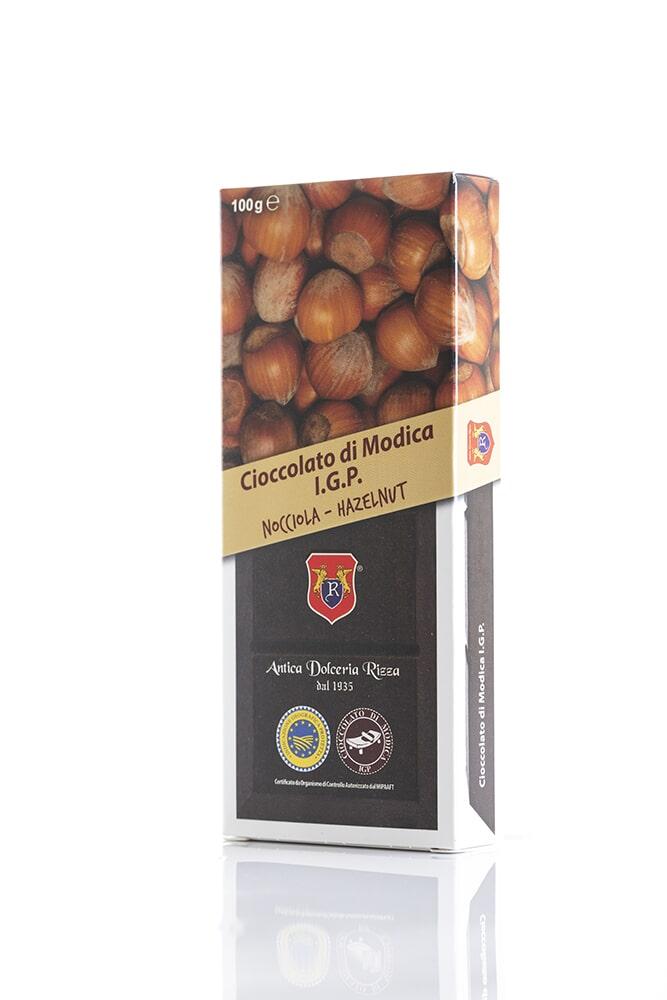 CIOCCOLATO ALLA NOCCIOLA Cacao minimo 50% Ingredienti: Pasta di cacao, Zucchero, Nocciola 8% Peso: 100g